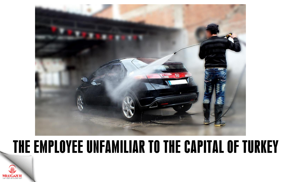 The employee unfamiliar to the capital of Turkey