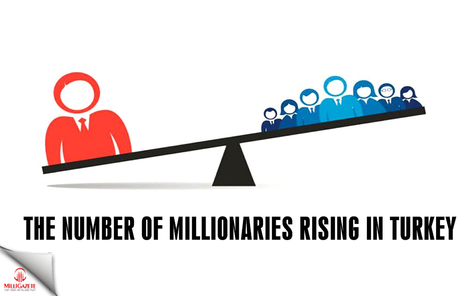The number of millionaires is rising in Turkey