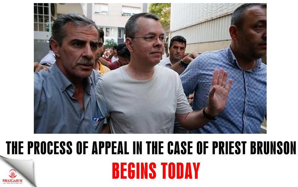 The process of appeal in the case of Priest Brunson begins today