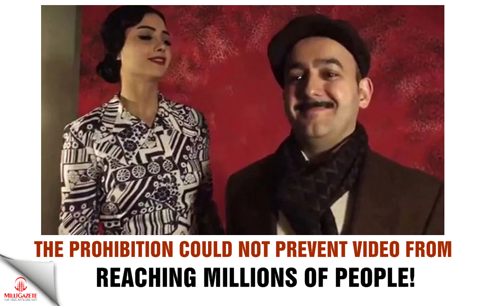 The prohibition could not prevent video from reaching millions of people!