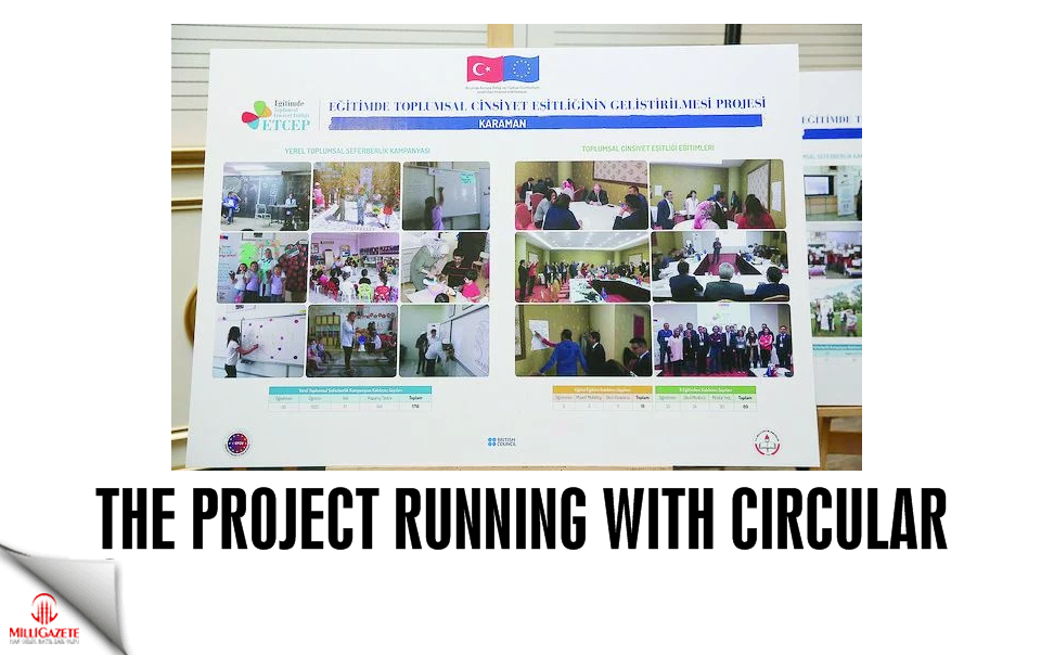 The project running with circular