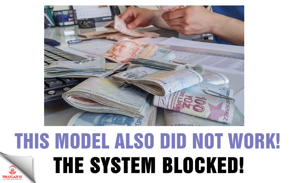 The system blocked! This model also did not work!