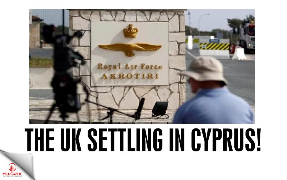 The UK settling in Cyprus!