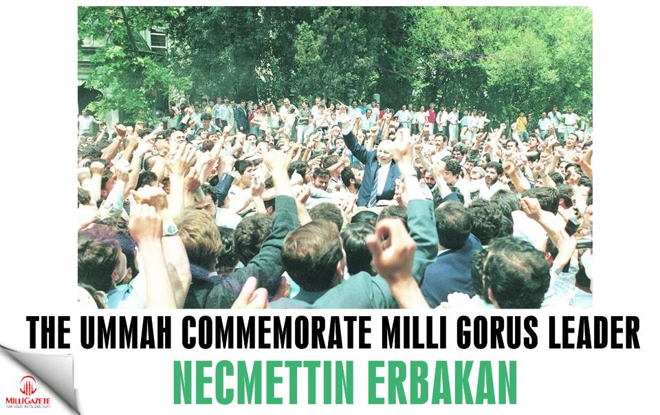 The Ummah commemorate Milli Görüş leader Necmettin Erbakan