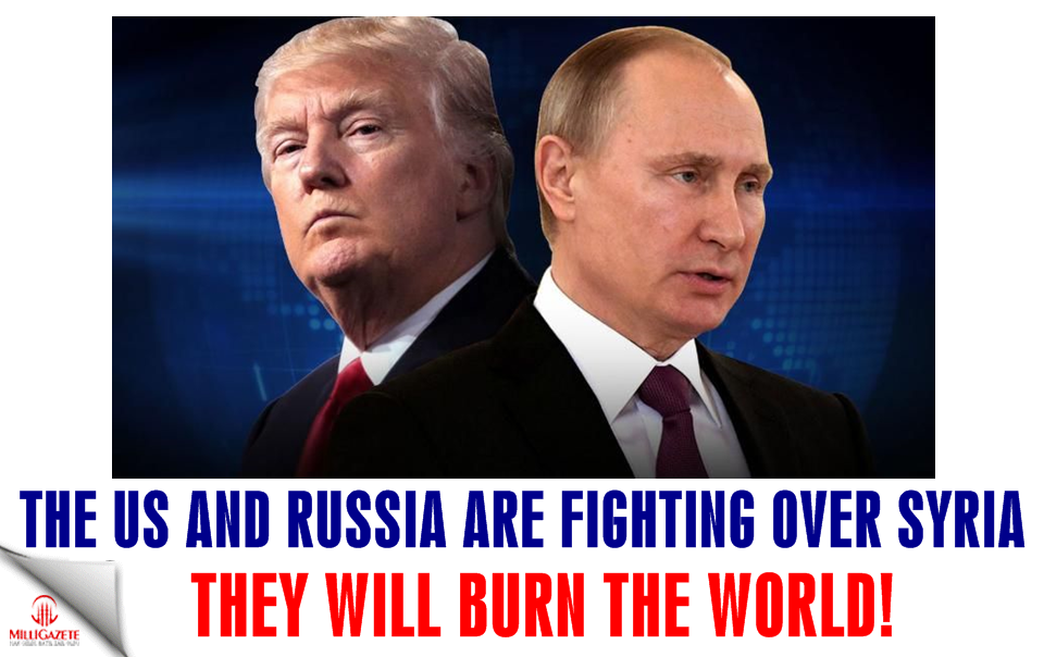 The US and Russia are fighting over Syria