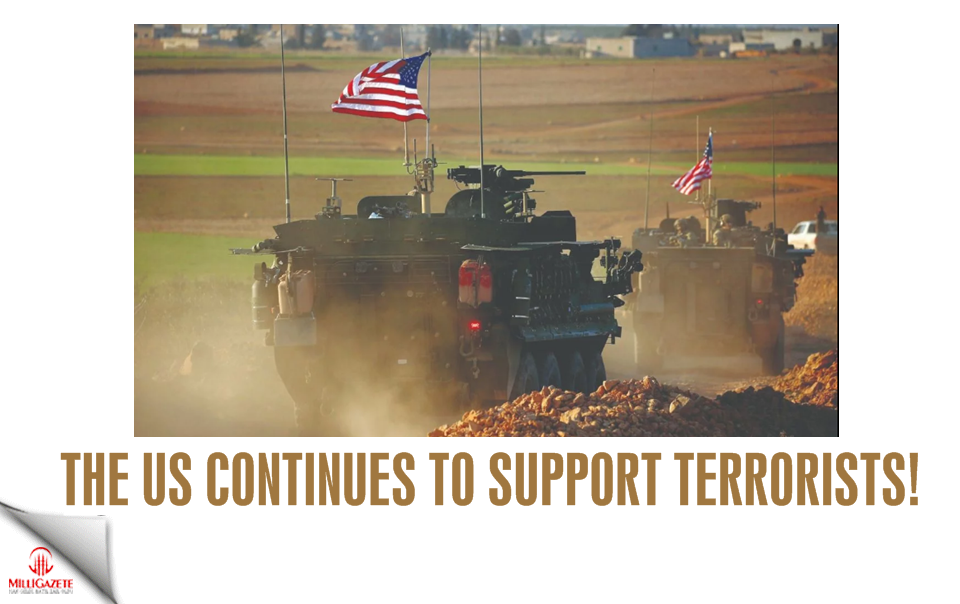 The US continues to support terrorists!