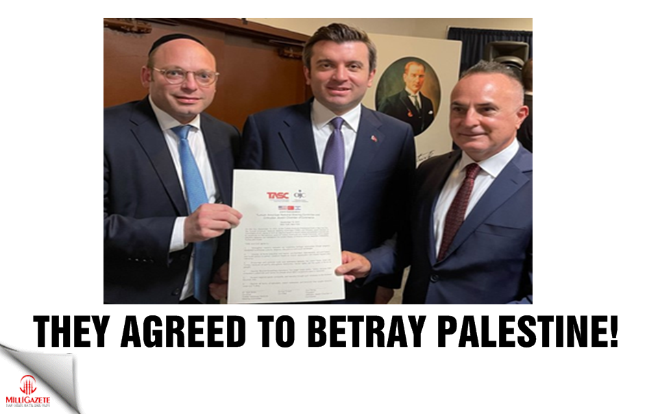 They agreed to betray Palestine!