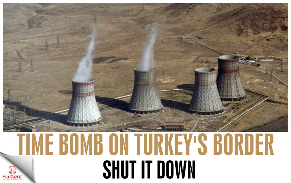 Time bomb on Turkey's border! Shut it down!