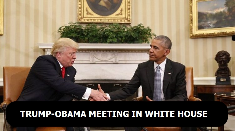 Trump-Obama meeting in White House