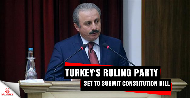 Turkey's ruling party set to submit constitution bill
