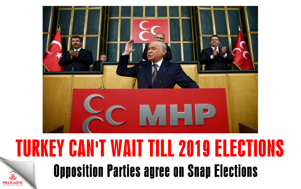 Turkey can't wait till 2019 elections