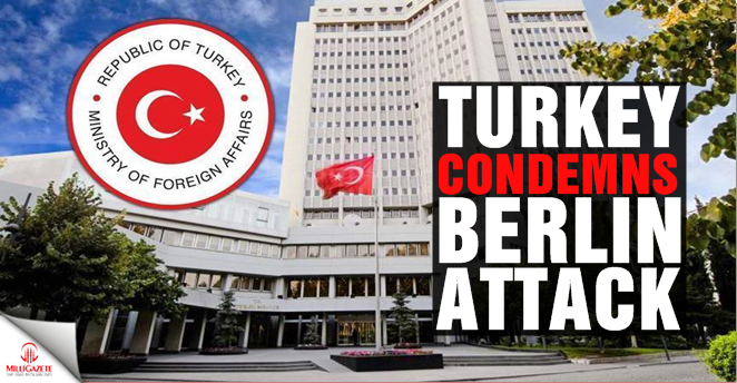 Turkey condemns Berlin attack