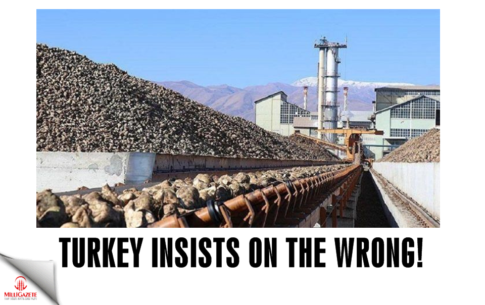 Turkey insists on the wrong!