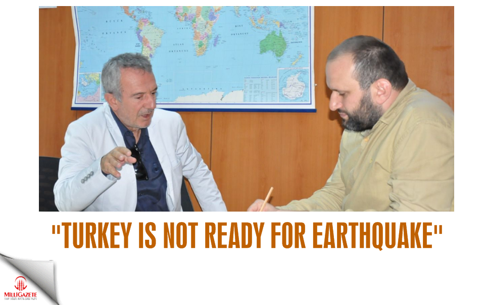Turkey is not ready for earthquake