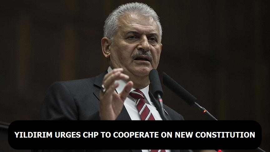Turkey PM urges CHP to cooperate on new constitution