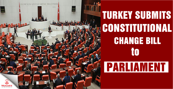 Turkey submits constitutional change bill to parliament