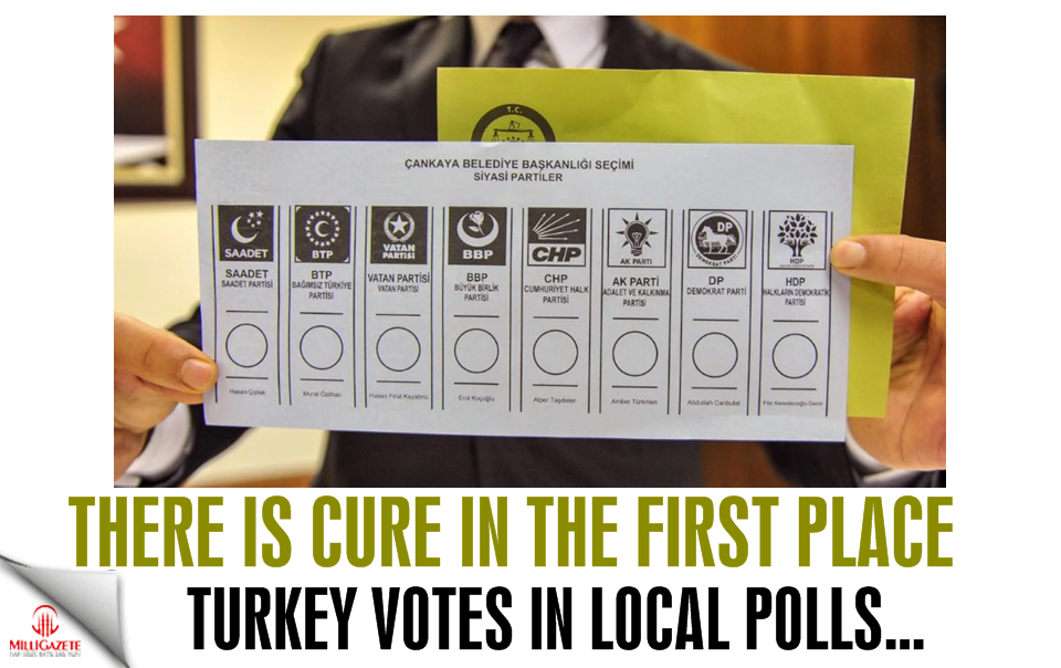 Turkey votes in local polls... There is cure in the first place!