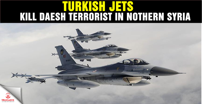 Turkish jets kill Daesh terrorist in northern Syria