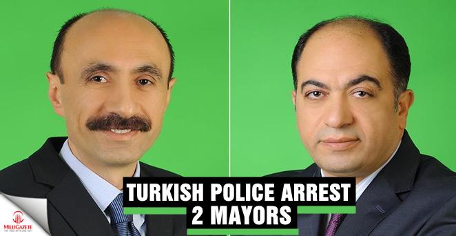 Turkish Police arrest 2 Mayors
