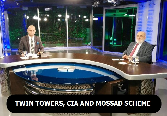Twin Towers, CIA and MOSSAD conspiracy