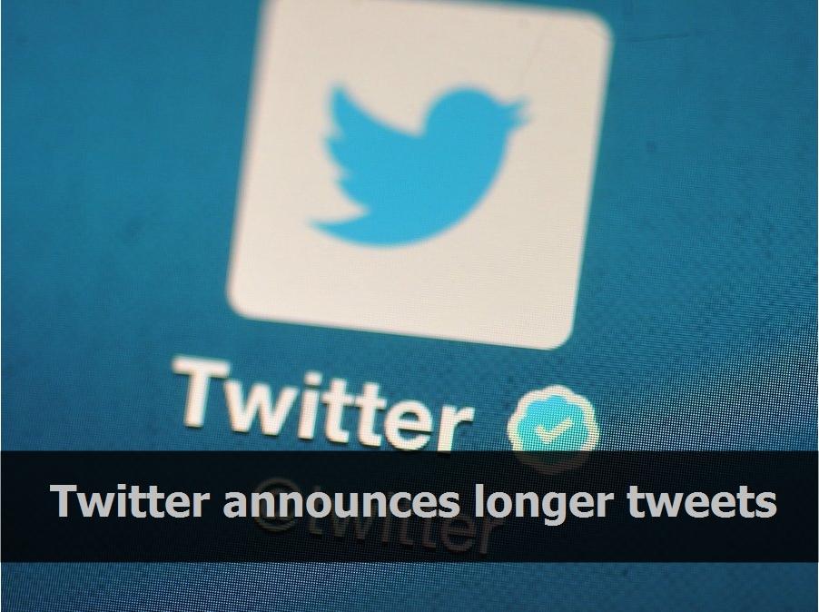 Twitter announces longer tweets
