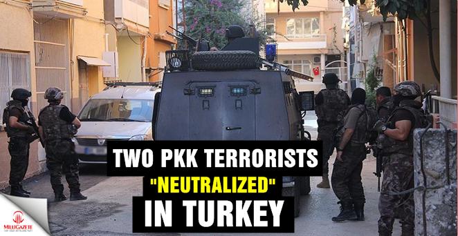 Two PKK terrorists 'neutralized' in Turkey
