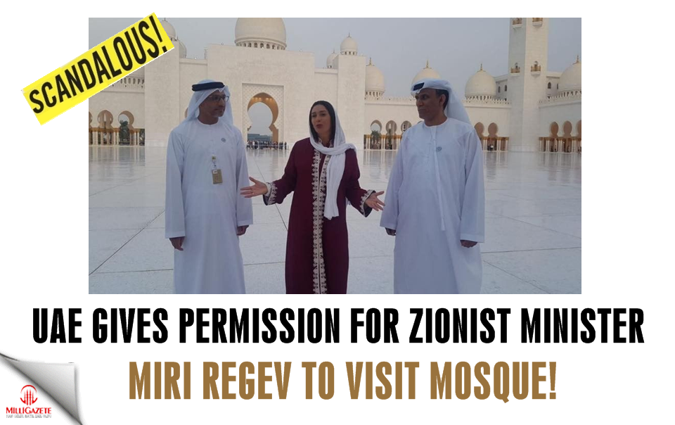 UAE gives permission for Zionist Minister to visit mosque
