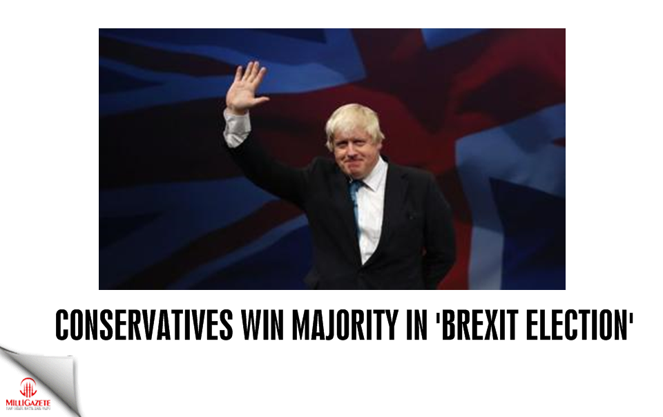 UK: Conservatives win majority in 'Brexit election'