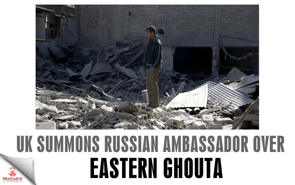 UK summons Russian ambassador over Eastern Ghouta