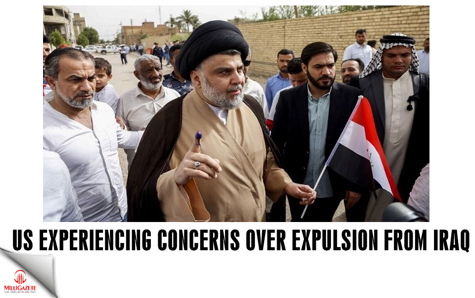 US experiencing concerns over expulsion from Iraq