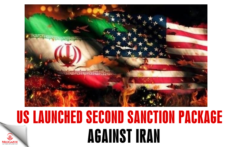 US launched second sanction package against Iran