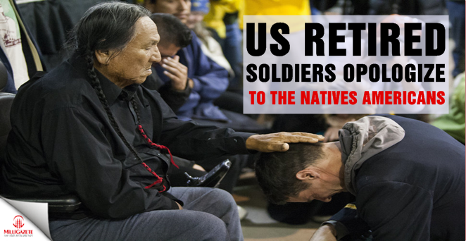 Us retired soldiers apologize to the Native Americans