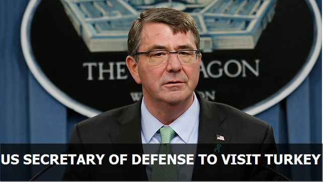 US Secretary of Defense to visit Turkey over Mosul offensive