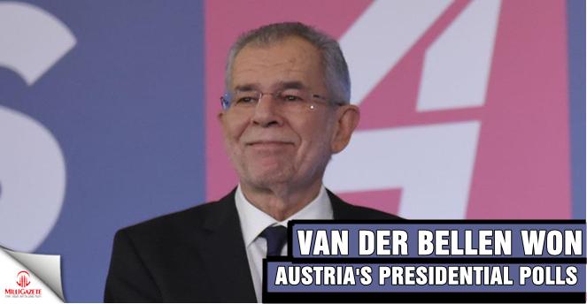 Van der Bellen won Austria's presidential polls