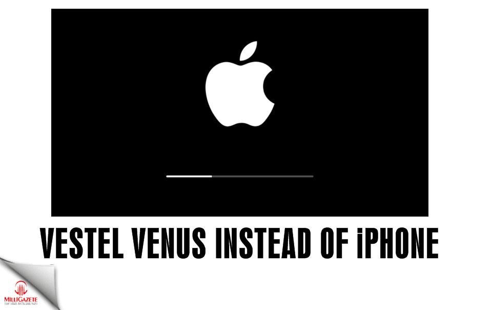 Vestel Venus instead of Iphone