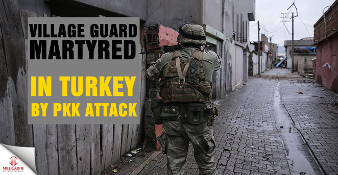 Village guard martyred in southeast Turkey PKK attack