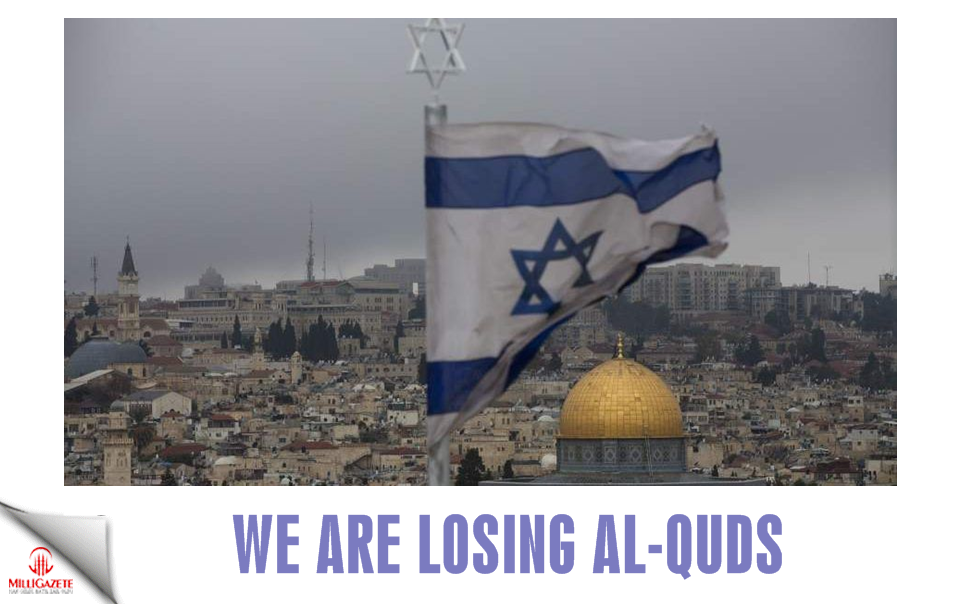 We are losing Al-Quds!