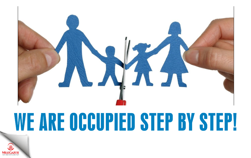 We are occupied step by step!