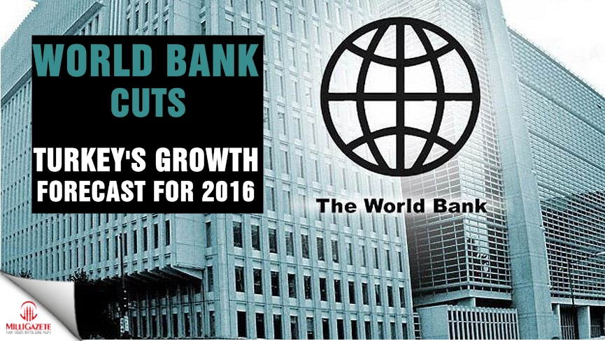 World Bank cuts Turkey's growth forecast for 2016