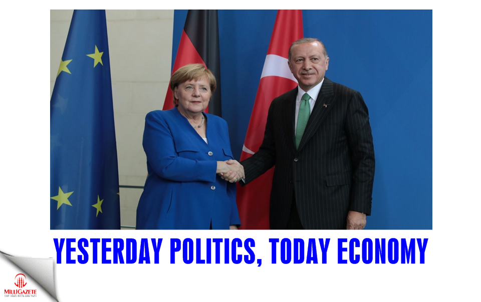 Yesterday politics, today economy