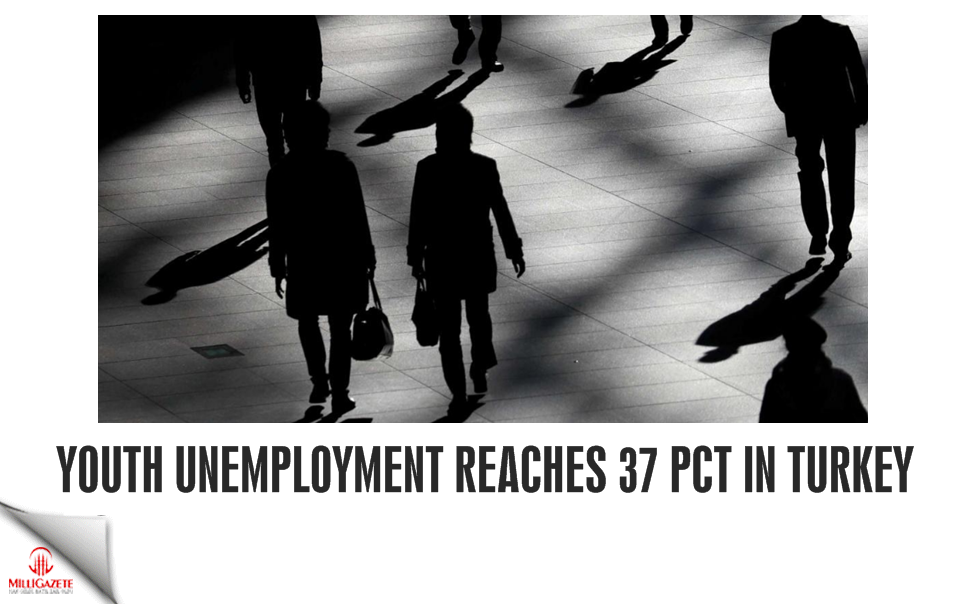 Youth unemployment reaches 37 pct in Turkey
