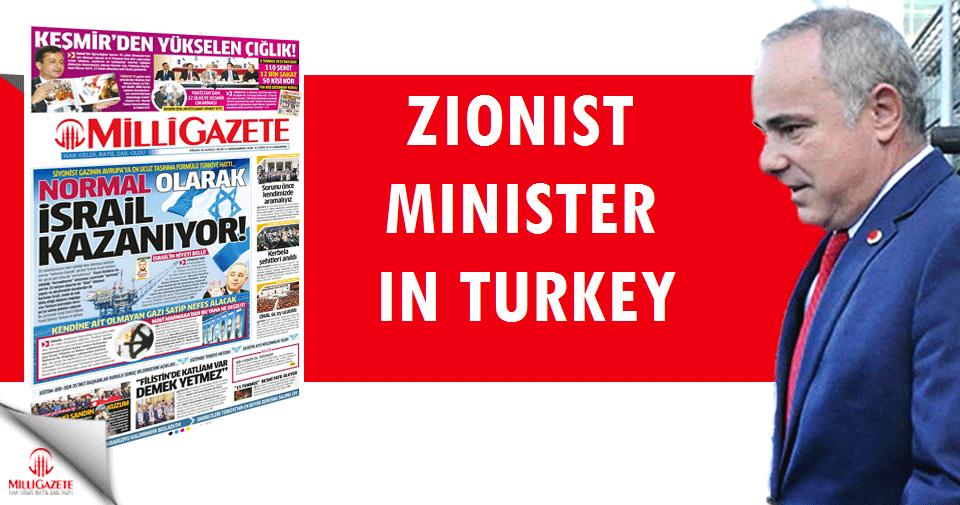 Zionist Minister in Turkey