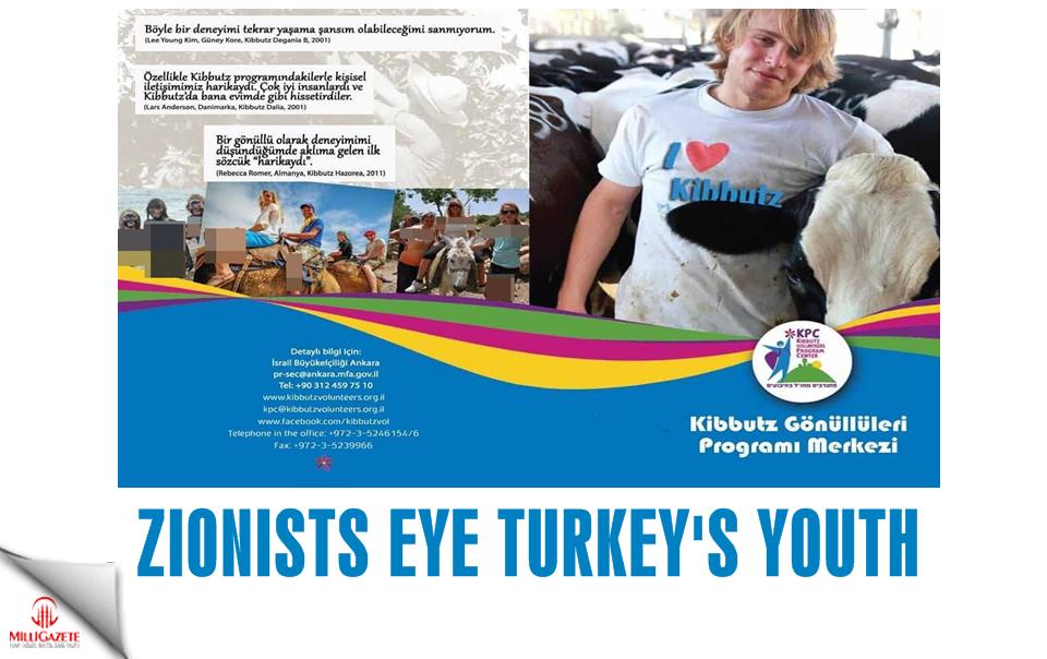 Zionists eye Turkey's youth