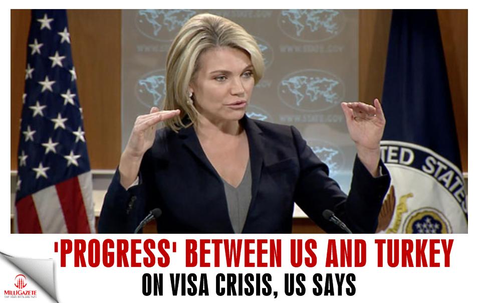 'Progress' between US and Turkey on visa crisis: State Dept