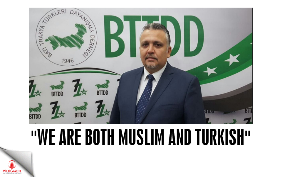 """We are both Muslim and Turkish"""
