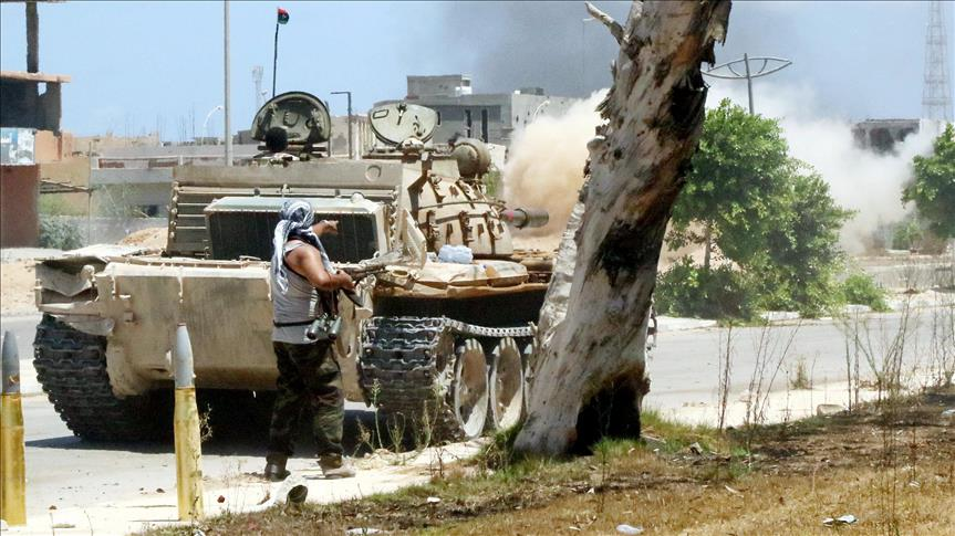 13 killed as Libyan forces advance in Sirte