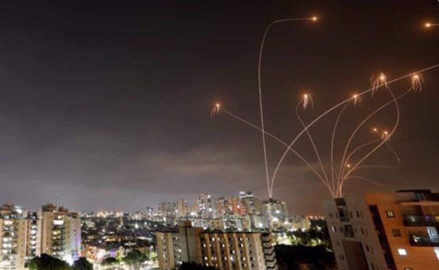 150 rockets fired from Gaza Strip towards occupied territories as Israel persists violence