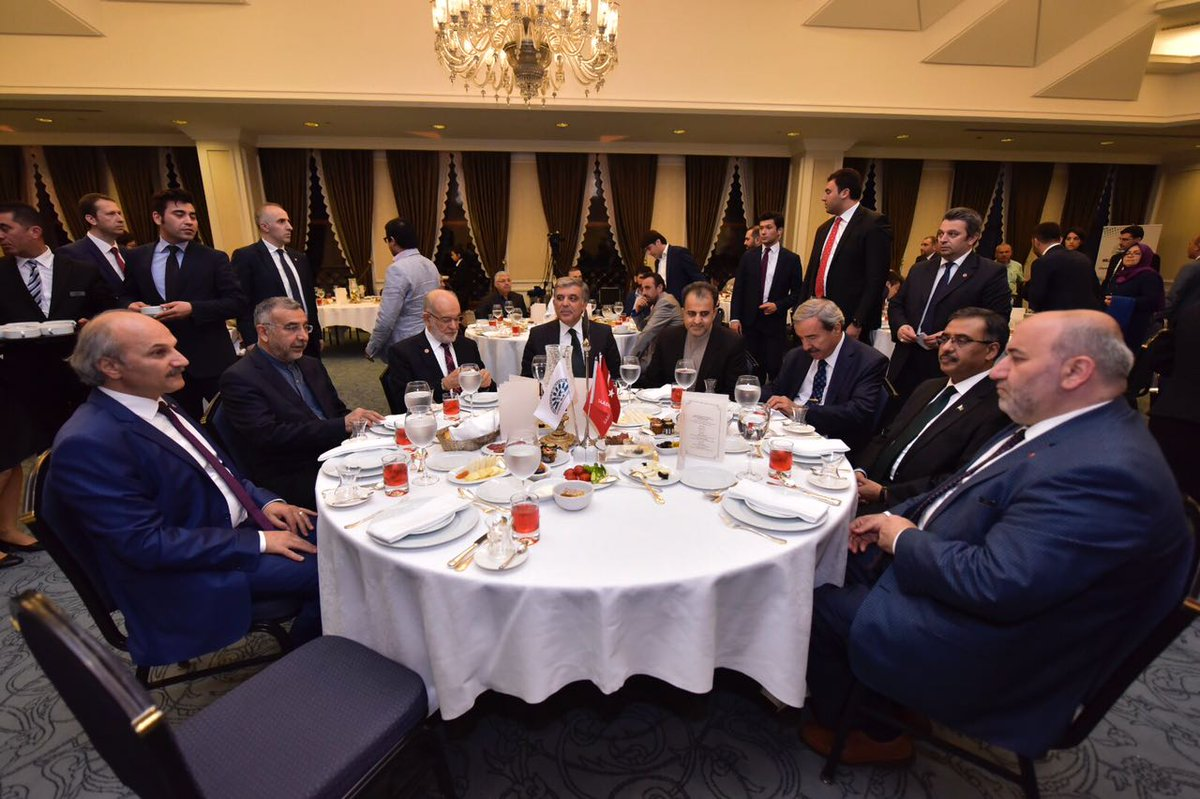 20th Anniversary of establishment of D-8 program continued with İftar yesterday.