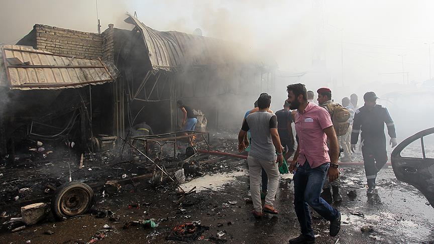 16 killed in vehicle bomb attack at wedding in Iraq