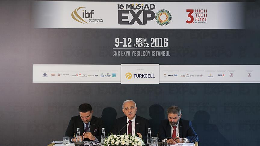 16th MUSIAD EXPO opens in Istanbul